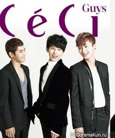ZE:A для CeCi October 2012