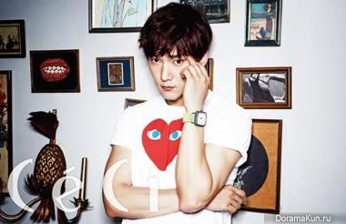 Choi Jin Hyuk для CeCi August 2014