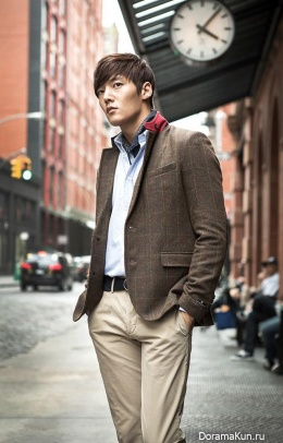 Choi Jin Hyuk для Cremieux F/W 2013 Ads