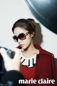 Choi Kang Hee, Hwang Jung Eum для Marie Claire Korea February 2012