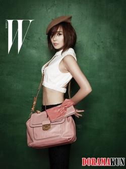Choi Kang Hee для W Korea August 2012