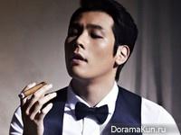 Daniel Choi для Elle Korea December 2013