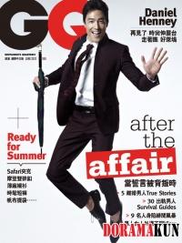 Daniel Henney для GQ Taiwan June 2012