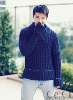 Donghae (Super Junior) для CeCi February 2013