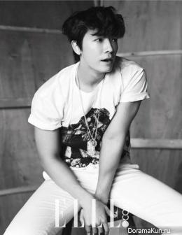 Donghae (Super Junior) для Elle Korea July 2014