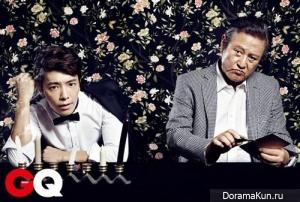 Donghae, Park Geun Hyung для GQ November 2012