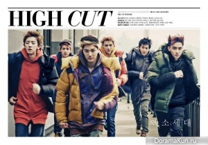 EXO-K для High Cut Vol. 111