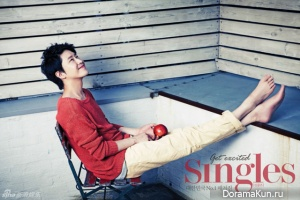 Uhm Ki Joon и др. для Singles September 2012