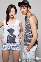 Esom, Kim Young Kwang для ANDEW 2014 CF