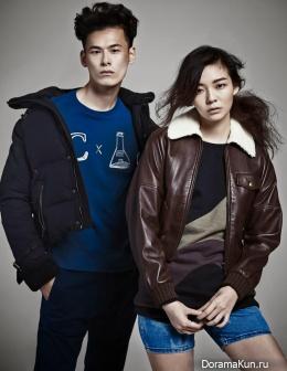 Esom, Kim Won Joong для W Korea September 2013