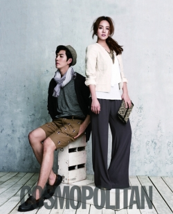 Eugene для Cosmopolitan Korea May 2012