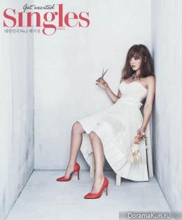Eugene для Singles Korea August 2013