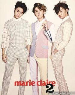 F.T. Island для Marie Claire April 2013