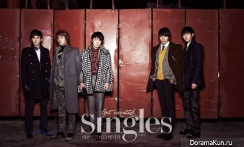 FT Island для Singles December 2012