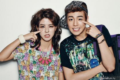 Lee Hyun Woo, Fujii Mina для PiFan Daily July 2013