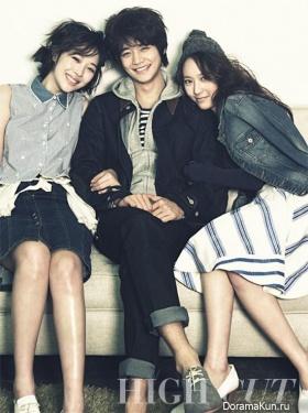 Krystal, Minho, Sulli для High Cut Vol. 94 Extra
