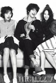Krystal, Minho, Sulli для High Cut Vol. 94