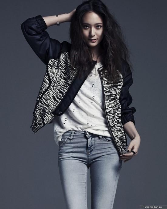 f(x) (Krystal) для Vogue April 2014 - Фотосессии F(x) Krystal 2014