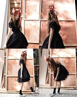 f(x)'s Victoria для Vogue Girl September 2012