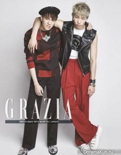GOT7 для Grazia Magazine February 2014