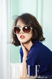 Go Ara для Elle Korea April 2014