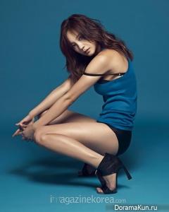 Go Eun Ah для Esquire June 2014