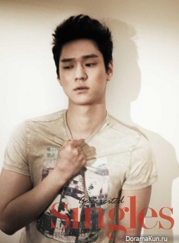 Go Kyung Pyo для Singles March 2013