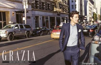 Go Soo для Grazia Korea November 2013