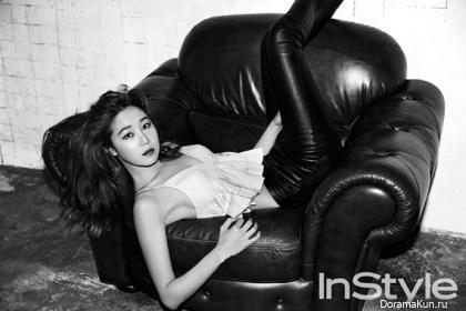 Gong Hyo Jin для InStyle Korea July 2014