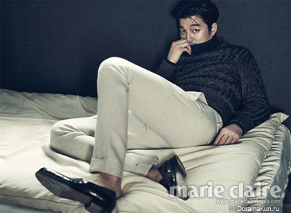 Gong Yoo для Marie Claire Korea October 2013