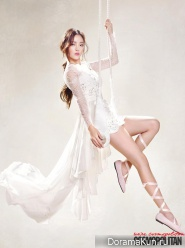Goo Hara (KARA) для Cosmo Beauty August 2013