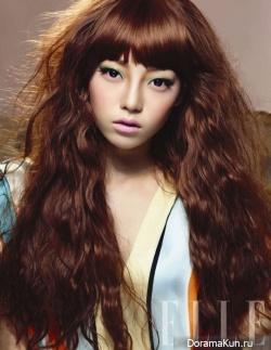Goo Hara (KARA) для Elle Girl 2011