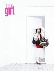 Kang Ji Young (Kara) для Elle Girl August Korea 2011