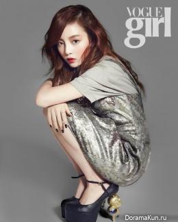 Goo Hara (KARA) для Vogue Girl February 2013
