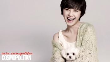 Goo Hye Sun для Cosmopolitan Korea November 2011