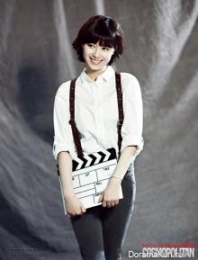 Goo Hye Sun для Cosmopolitan October 2012 Extra