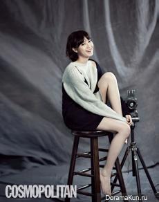 Goo Hye Sun для Cosmopolitan October 2012