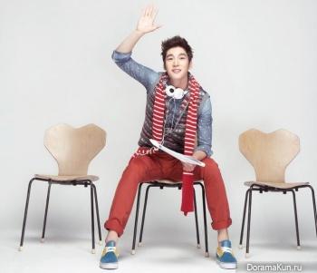 Gu Won для InStyle January 2013