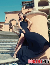 Ha Ji Won для Harper's Bazaar Korea July 2012 Extra