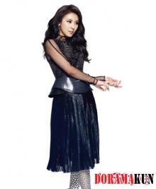 Ha Ji Won для InStyle Korea September 2012