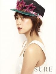 Ha Ji Won для SURE February 2012