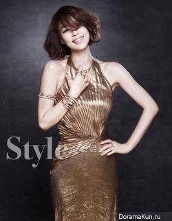 Ha Ji Won и др. для Style Chosun December 2012