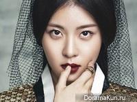 Ha Ji Won для The Celebrity January 2014