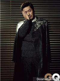 Ha Jung Woo для GQ December 2012