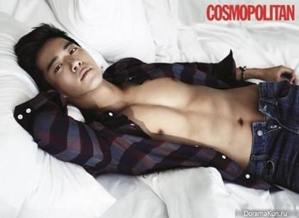 Ha Suk Jin для Cosmopolitan Korea November 2013