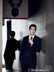 Ha Suk Jin для L'Officiel Hommes October 2013