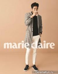 Ha Suk Jin для Marie Claire April 2013