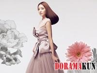 Han Chae Young для Cosmopolitan Korea August 2012