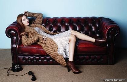 Han Chae Young для Harper's Bazaar December 2012 Extra