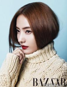 Han Chae Young для Harper's Bazaar December 2012